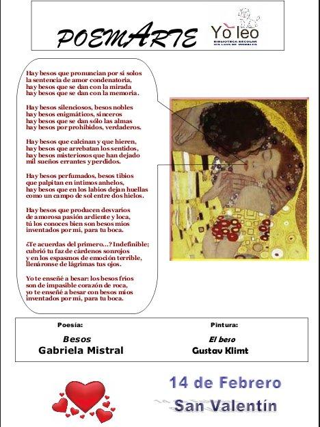 Fragmento de El Beso de Gustav Klimt